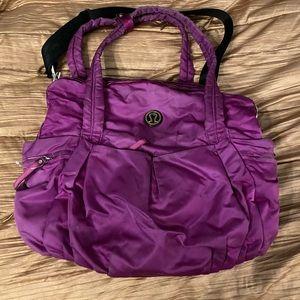 Lululemon large crossbody bag